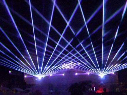 aida-lasershow
