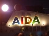 AIDA-Schriftzug-Mond