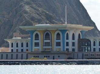Oman-Muscat-Bootstour-Kueste-Palast_Sultan-2