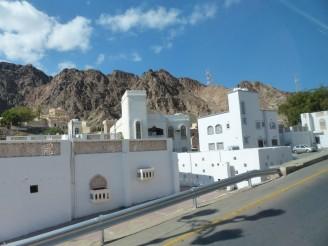 Oman-Muscat-Haeuser-landestypisch-2