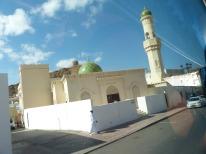Oman-Muscat-Haeuser-landestypisch-Moschee-2