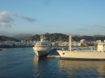 Oman-Muscat-Hafen-Jacht_Sultan-2