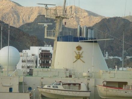 Oman-Muscat-Hafen-Jacht_Sultan-3