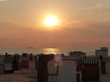 Warnemuende-Strand-Abend-1