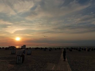 Warnemuende-Strand-Abend-3
