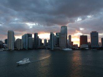 Miami-Skyline-Sonnenuntergang-1