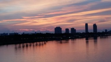 Miami-Skyline-Sonnenaufgang-1