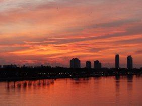 Miami-Skyline-Sonnenaufgang-2