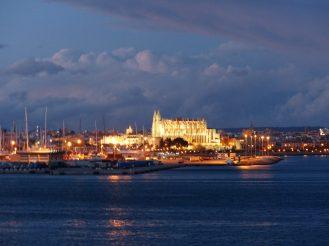 Palma Mallorca-Kathedrale-Nacht-1