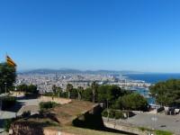Barcelona-Castell_de_Montjuic-Aussicht-2