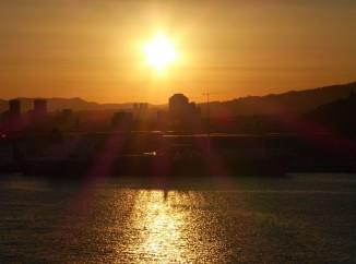 Barcelona-Hafen-Sonnenuntergang-1