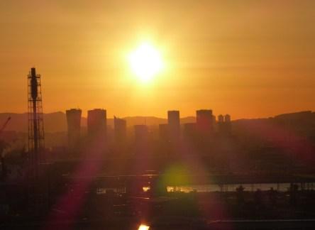 Barcelona-Hafen-Sonnenuntergang-2