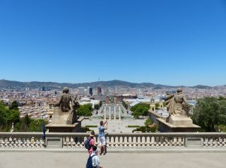 Barcelona-Nationalmuseum-Aussicht-3