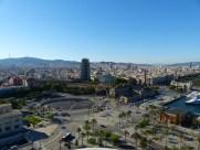 Barcelona-Seilbahn-Aussicht-1