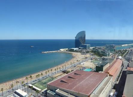 Barcelona-Strand-Luftaufnahme-1