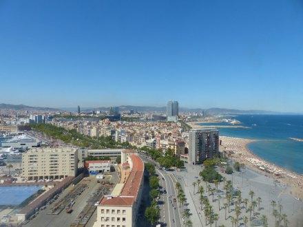 Barcelona-Strand-Luftaufnahme-2