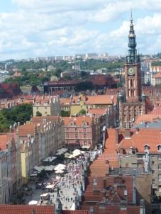 Lange Gasse und Rathaus