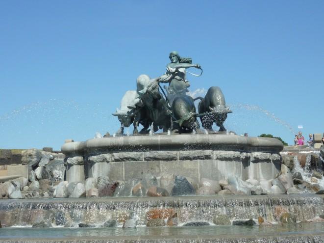 Figuren des Gefion-Brunnens
