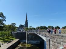 Brücke zur St. Alban-Kirche