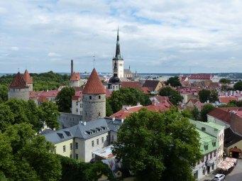 Tallinn-Altstadt-Aussicht