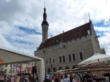 Tallinn-Rathaus-Marktplatz