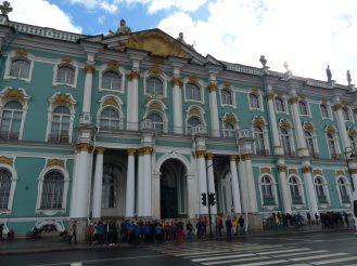Winterpalat - Eingang Eremitage