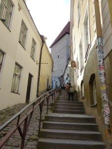 Aufstieg zum Domberg