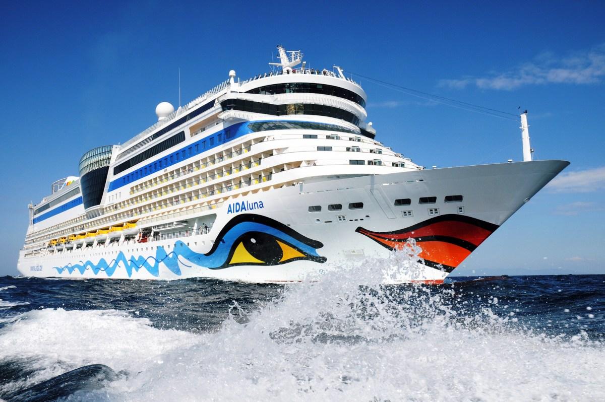 Reiseroute: Karibik 2017 mit AIDAluna