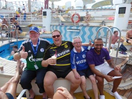 Borussia Dortmund und Schalke