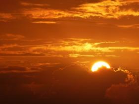 sonnenuntergang-orange-sonne