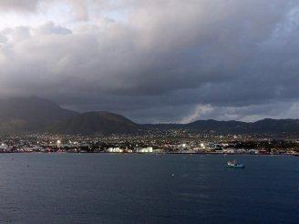 Karibik-St_Kitts-Ablegen-Abenddaemmerung-2