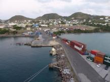Karibik-St_Kitts-Ablegen-Hafen-Abenddaemmerung-1
