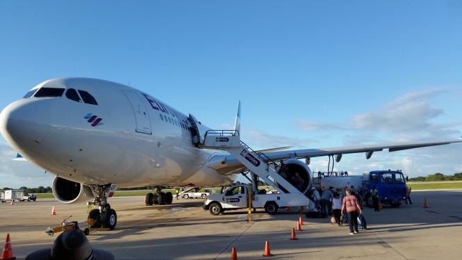 La_Romana-Flughafen-Flugzeug-Abflug-1