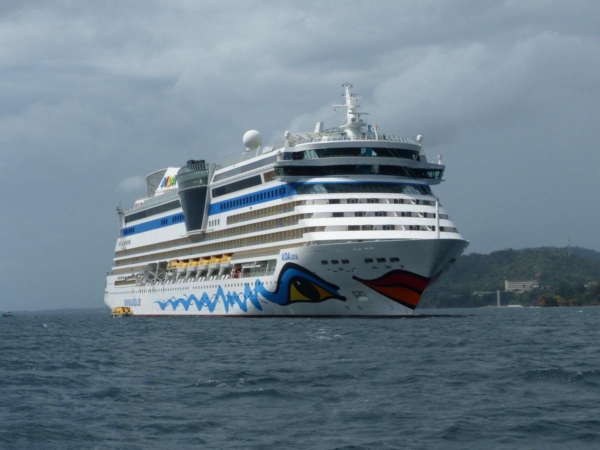 Reiseroute: Karibik 2014 mit AIDAluna