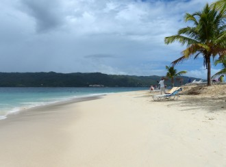 Samana-Cayo_Levantado-Bacardi_Insel-Strand-Palme-1