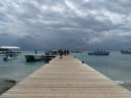 Samana-Cayo_Levantado-Bacardi_Insel-Tenderanleger-2