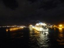 St_Maarten-Philipsburg-Pier-Kreuzfahrtschiffe-Abend-2