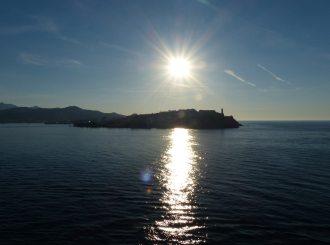 Elba-Portoferraio-Hafen-Sonnenuntergang-1