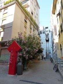 Italien-La_Spezia-Aufzug-Castello_di_San_Giorgio-3