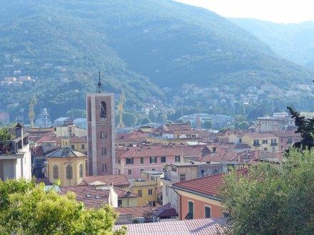 Italien-La_Spezia-Aussicht-Castello_di_San_Giorgio-1