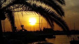 Mallorca-Palma-Hafen-Kathedrale-Sonnenaufgang-3