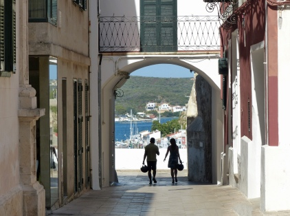 Menorca-Mahon-Altstadt-Torbogen-1