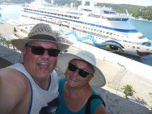 Menorca-Mahon-Hafen-Ausblick-AIDAaura-wir-1