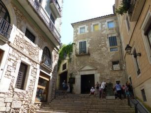 Spanien-Girona-Altstadt-Gassen-2