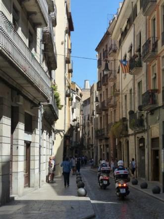 Spanien-Girona-Altstadt-Gassen-4