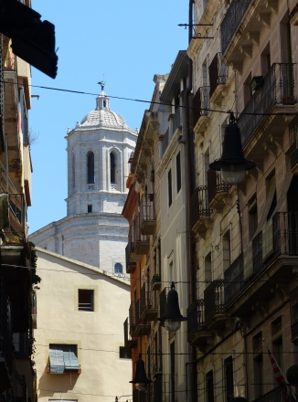Spanien-Girona-Altstadt-Gassen-5