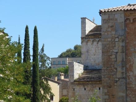 Spanien-Girona-Altstadt-Stadtmauer-2