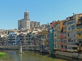 Spanien-Girona-Onyar-Kathedrale-1