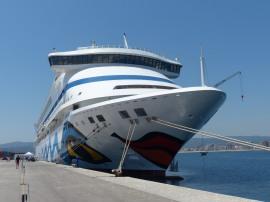 Spanien-Palamos-AIDAaura-Schiff-1