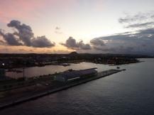 Aruba-Oranjestad-Hafen-Morgendaemmerung-1